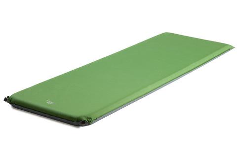 Самонадувающийся туристический коврик TREK PLANET Relax 70 (Green)