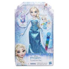 Кукла принцесса Эльза Холодное сердце, Волшебный кристалл