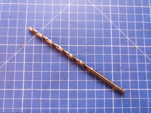 Сверло по металлу ц/x 5,0x132/87мм DIN340 h8 10xD HSSE-Co5 135° H-Tools 1670-1050