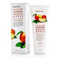 Farmstay All-In-One Whitening Peeling Gel Apple - Пилинг-гель для лица с экстрактом яблока