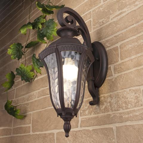 Draco D капучино уличный настенный светильник GL 1010D