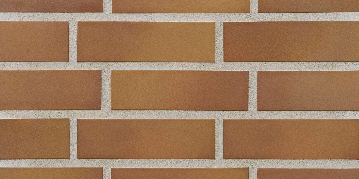 Stroeher - 307 weizengelb, Keravette, unglasiert, неглазурованная, гладкая, 240x52x8 - Клинкерная плитка для фасада и внутренней отделки