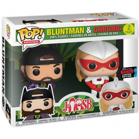 Jay & Silent Bob -  Movies - Bluntman & Chronic Funko Pop! (Exc)! || Пыхарь и Хроник