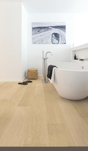White varnished Oak | Ламинат QUICK-STEP IMU3105