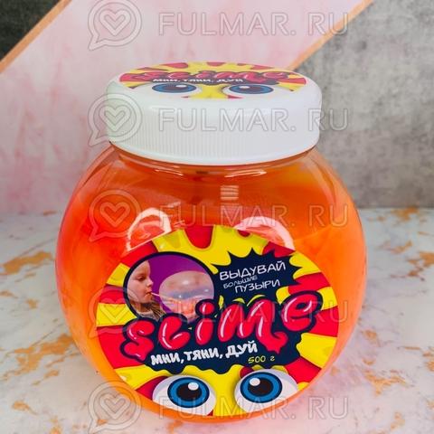 Большой слайм Мни, Тяни, Дуй Slime Mega Mix розовый и жёлтый, 500 г