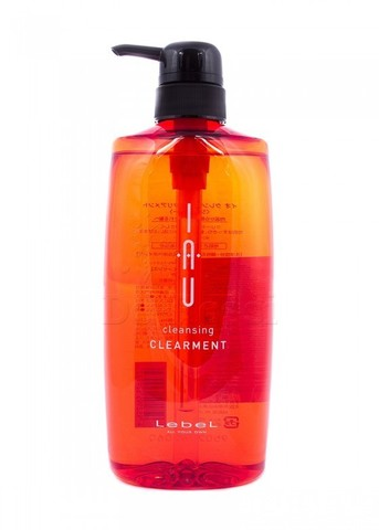 Освежающий аромашампунь для нормальной кожи головы IAU cleansing CLEARMENT, 600 мл.