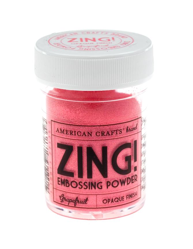 Пудра для эмбоссинга ZING! Grapefruit