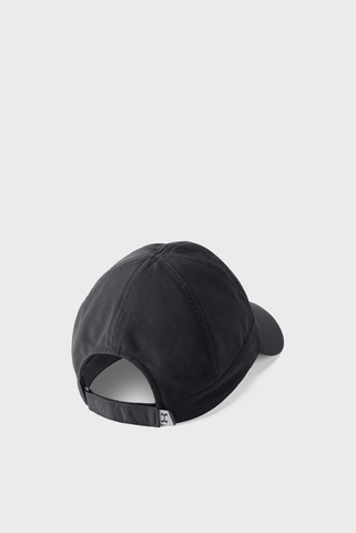Женская черная кепка UA Fly By Cap Under Armour