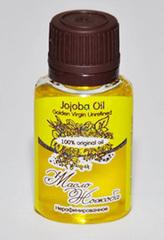 Косметическое масло ЖОЖОБА/ Jojoba Oil Golden Virgin Unrefined /нерафинированное (голден)/ 20 ml