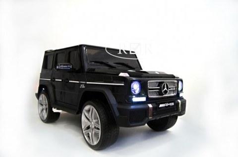 Детский электромобиль Rivertoys Mercedes-Benz G65-AMG черный глянец