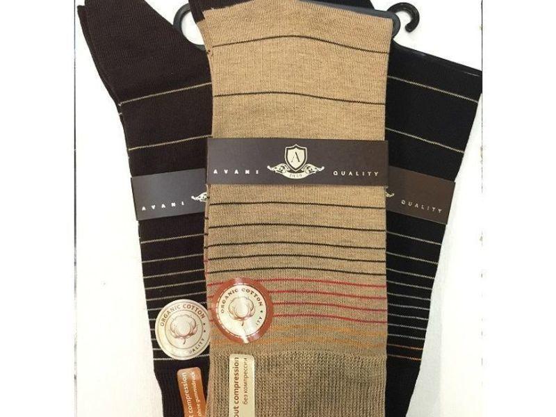 Мужские носки Avani серые 4K-186 Н_79