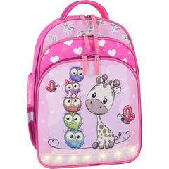 Рюкзак школьный Bagland Mouse 143 малиновый 682 (00513702)