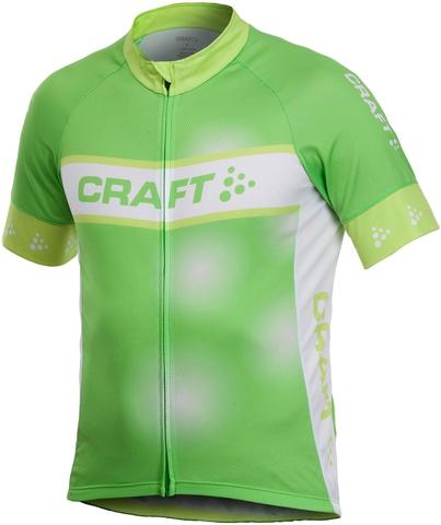 Велофутболка Craft Active Bike Logo мужская зеленая