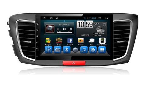 Штатная магнитола  KR1029T8 для Honda Accord 9 2013+ на Android 9,0