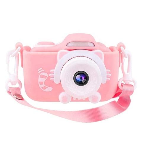 Фотоаппарат детский с вспышкой SmileZoom Кот 24 Мп