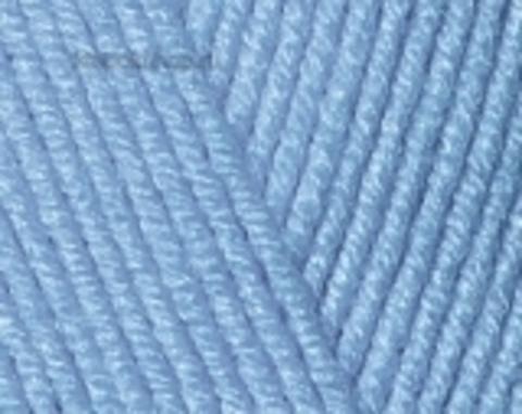 Пряжа Cotton BABY SOFT Alize 374 Синий- купить в интернет-магазине недорого klubokshop.ru