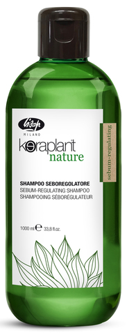 Себорегулирующий шампунь - Lisap Keraplant Nature Sebum-Regulating Shampoo 1000 мл