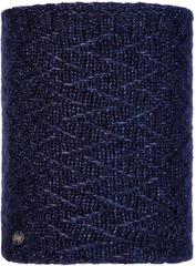 Вязаный шарф-труба с флисом Buff Neckwarmer Knitted Polar Ebba Night Blue