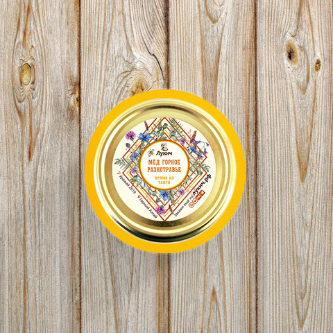 Мёд Горное разнотравье