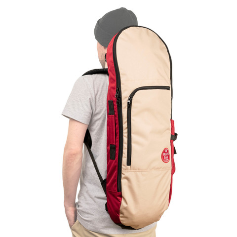 Чехол для скейтборда SKATE BAG Trip (Cherry/Beige)
