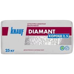 Штукатурка цементная декоративная Knauf Диамант Короед 2.5, 25 кг
