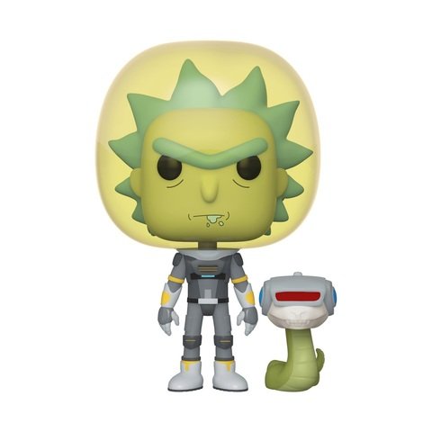 Фигурка Funko POP! Vinyl: Rick & Morty: Space Suit Rick w/Sn 45434