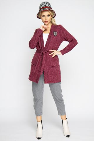 """<p><span>Отличный кардиган на каждый день. Накладные карманы с клапанами-модный тренд этого сезона. Прекрасно сочетается с любыми вещами Вашего гардероба. Удачная покупка для современной дамы. Элемент """"Брошь"""" в комплект не входит (можно приобрести в разделе """" Аксессуары"""").</span></p>"""