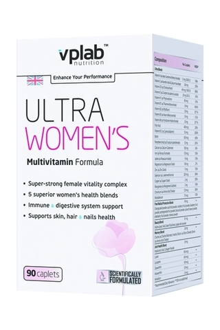 VP Laboratory Ultra Women's Multivitamin Formula 90 каплет