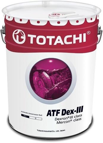 ATF Dex-III (Dexron - III) TOTACHI масло трансмиссионное для АКПП (20 Литров)