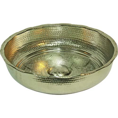 Чаша серебряная для хамама