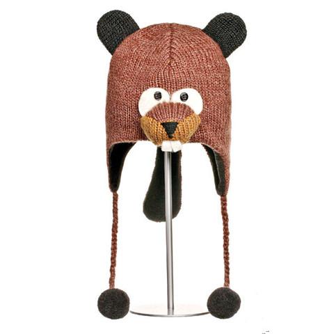 Картинка шапка с ушами Knitwits Barkley The Beaver