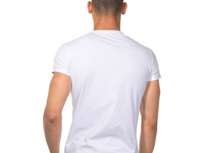 Футболка мужская белая DARKZONE DZN8502