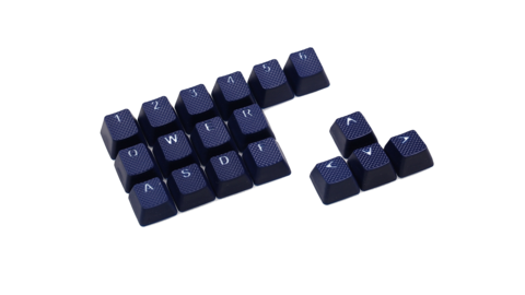 Клавиши Tai-Hao «Rubber Blue»
