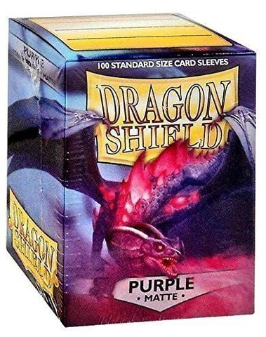 Протекторы Dragon Shield матовые Purple (100 шт.)