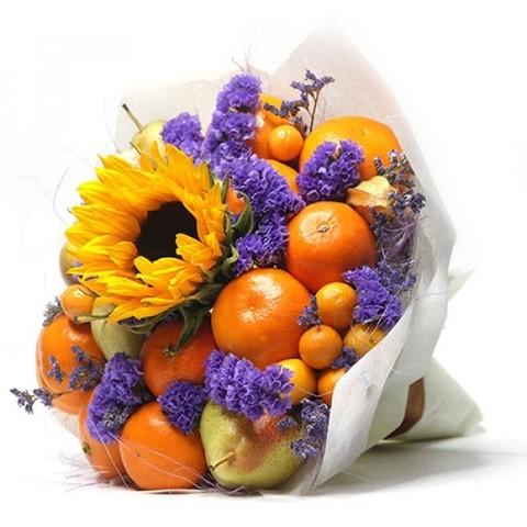 Фруктовый Букет Осенний Поцелуй