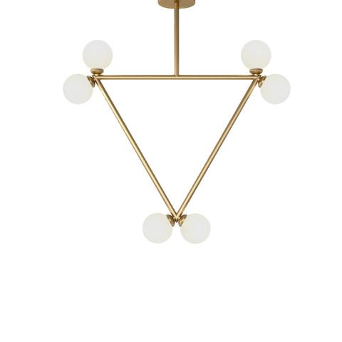 Потолочный светильник копия Triangle by Atelier Areti (золотой)