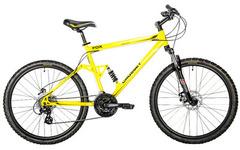 велосипед Crosset FOX желтый
