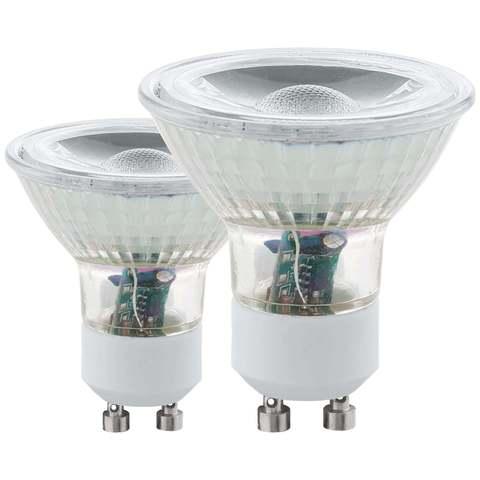 Лампа (комплект 2 шт.) Eglo LED LM-LED-GU10 2х5W 400Lm 4000K  11526