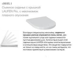 Сиденье для унитаза с плавным опусканием Laufen Pro NEW Standard 8.9395.6.300.000.1.1