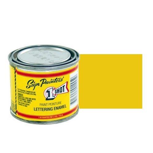 Пинстрайпинг (pinstriping) 134-L Эмаль для пинстрайпинга 1 Shot Желтый Крон (Chrome Yellow), 118 мл ChromeYellow.jpg