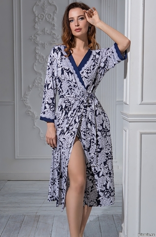 Длинный халат Mia-Mella 6389 MADLEN