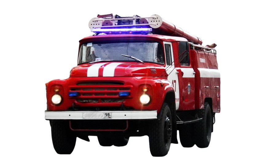 Мигалка HOR 250 на пожарной машине