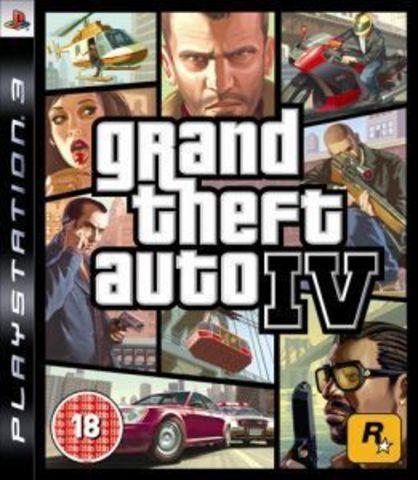 PS3 Grand Theft Auto IV (английская версия)