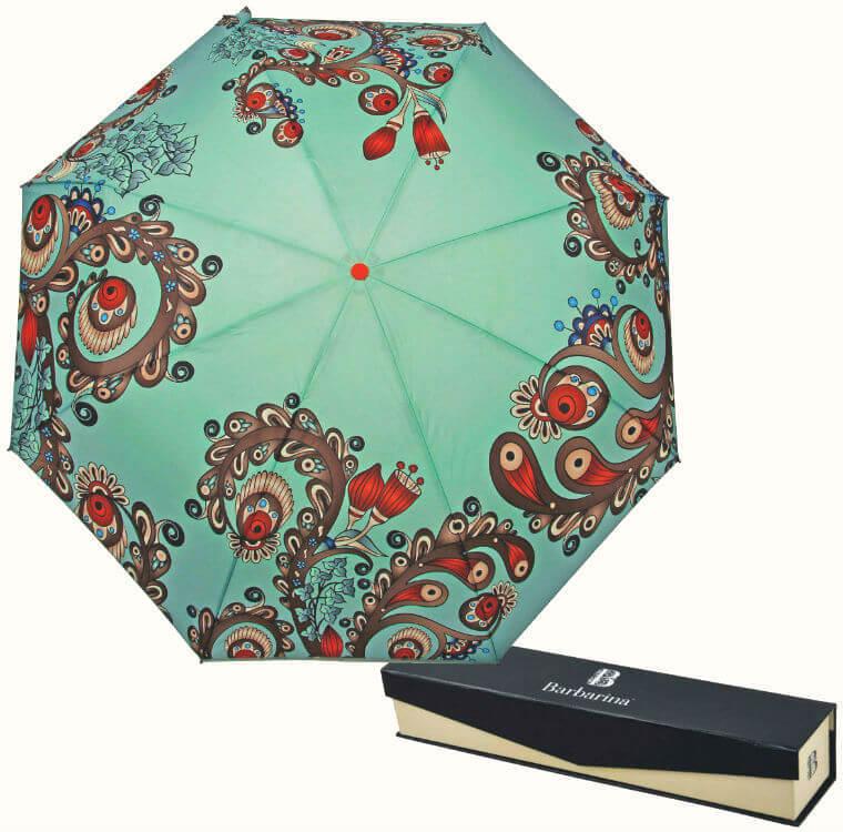Зонт складной Barbarina 2304 Menta giglio