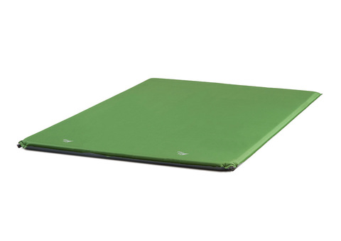 Самонадувающийся туристический коврик TREK PLANET Relax 50 Double (Green)