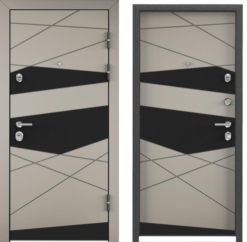 Входные двери с шумоизоляцией Torex Ultimatum M KB-46D кремовый ликёр с двух сторон generated_image__4_.png