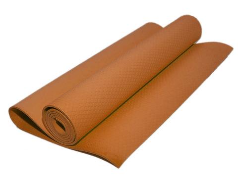 Коврик гимнастический. Цвет: оранжевый. КВ6505-ОРН