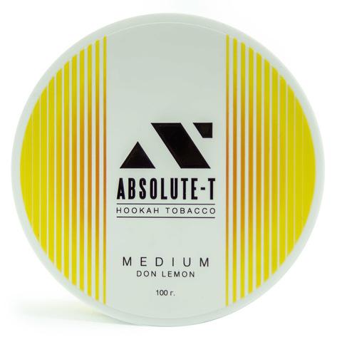 Табак Absolute-T Med Don Lemon (Лимон) 100 г