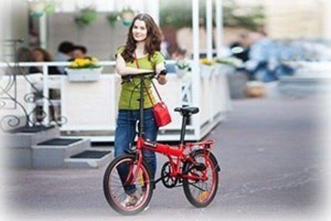 Складные модели велосипедов