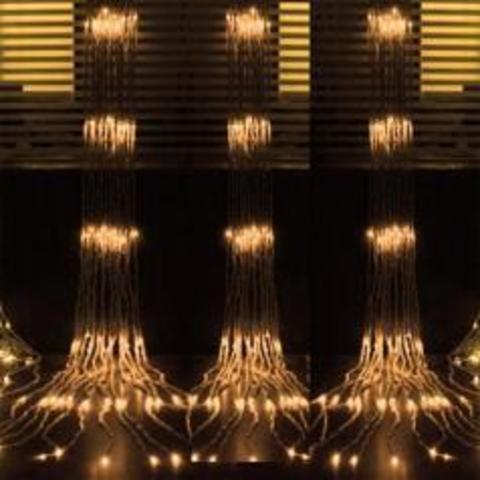 Новогодняя гирлянда водопад LED 2 на 3 метра